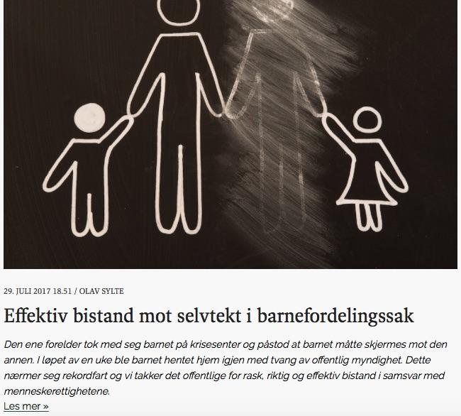 menn omsorg for barn etter samlivsbrudd
